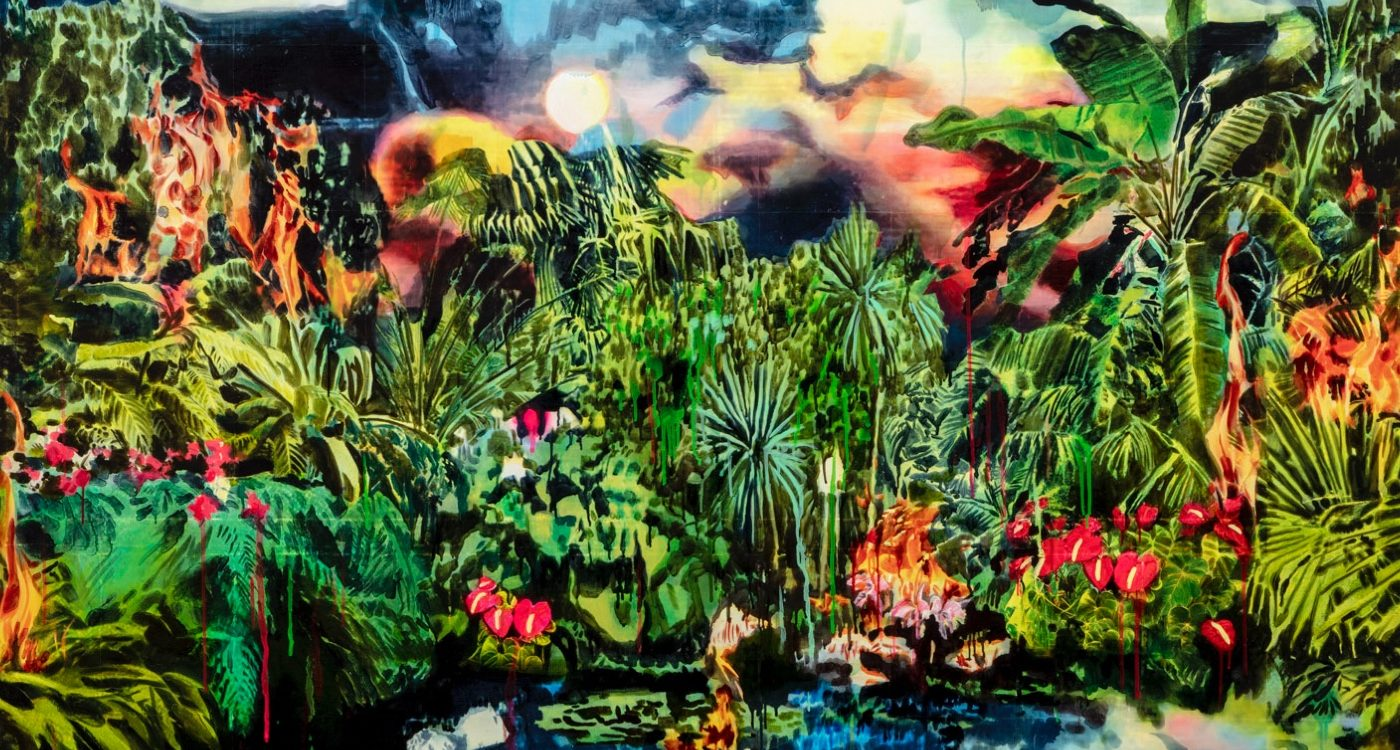 Over the Influence presents 'Smoke and Mirrors', LA-based artist Rosson Crow's first solo show in Hong Kong.