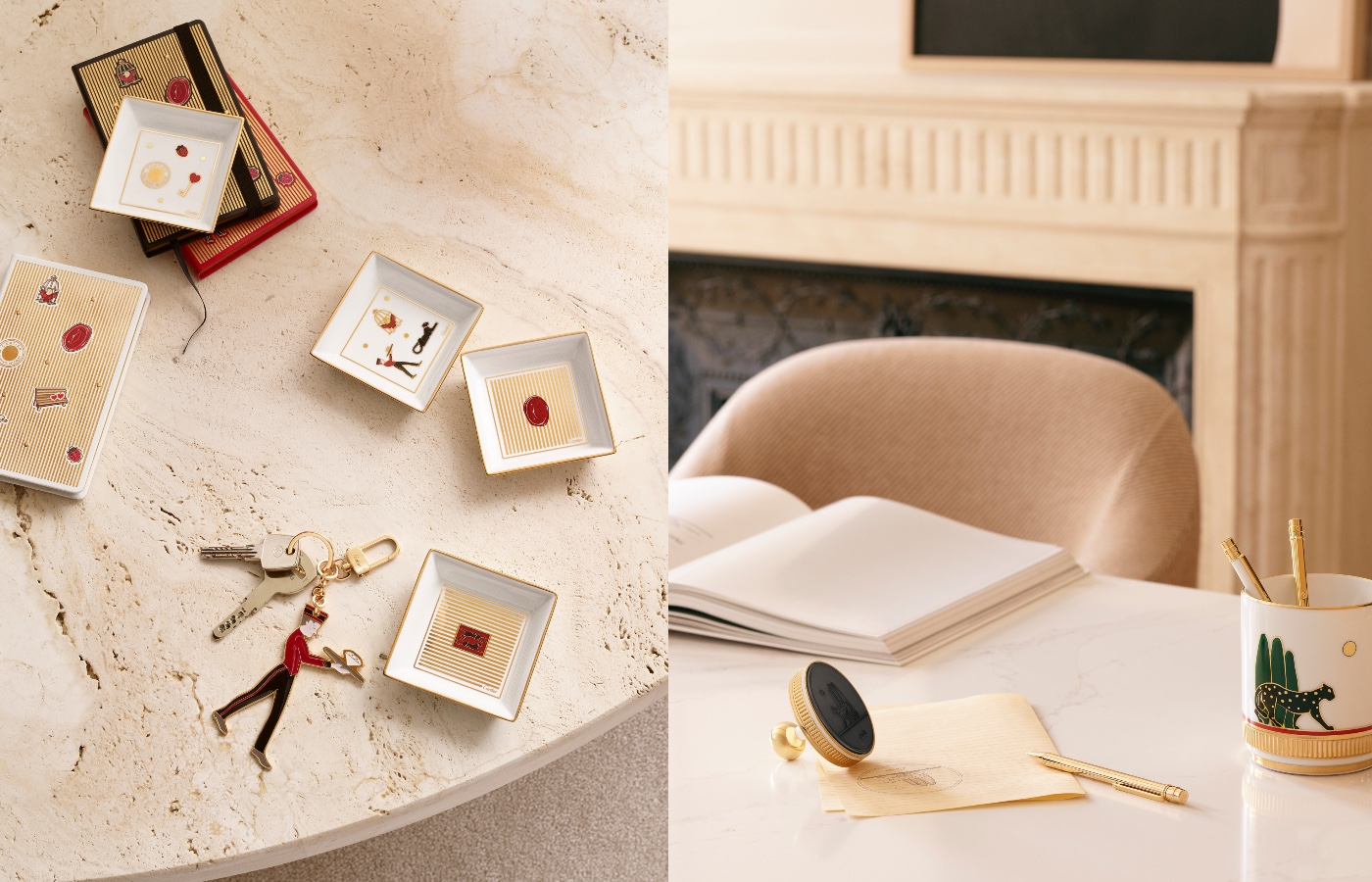 A New Cartier Collection of Objects: Four Collections, One Style.