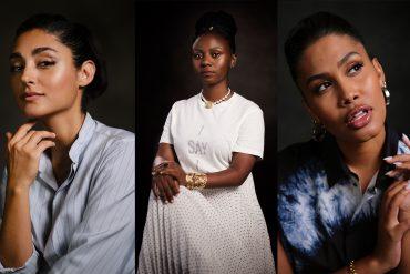 Dior Stands With Women: Golshifteh Farahani, Pamela Tulizo and Leyna Bloom.