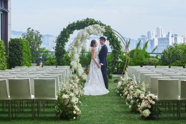 Rosewood Hong Kong, Romance on the Lawn wedding