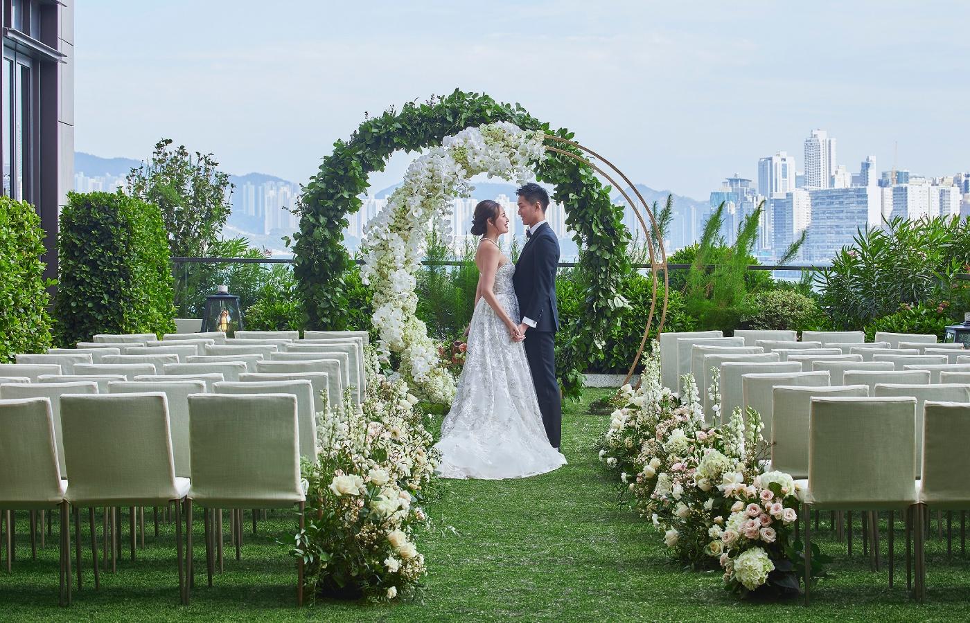 Rosewood Hong Kong, Romance on the Lawn wedding