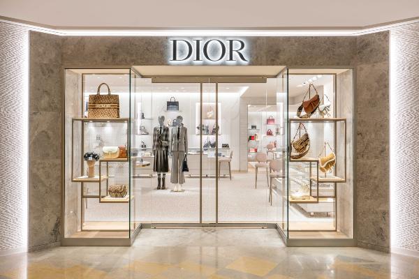 Dior Pacific Place Hong Kong Store Exterior