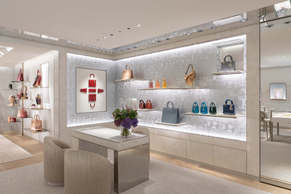 Dior Pacific Place Hong Kong Store Interior