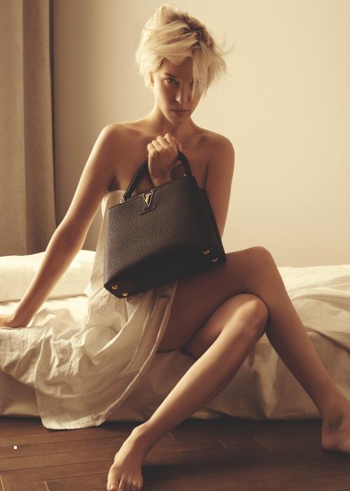 Louis Vuitton handbag campaign starring Léa Seydoux