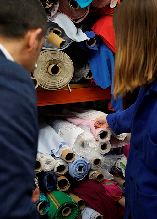 British Fashion Council Student Fabric Initiative
