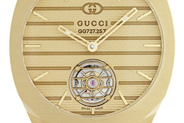 GUCCI 25H Tourbillon Yellow Gold
