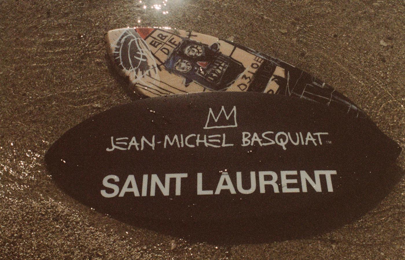 Saint Laurent Basquiat Capsule Collection