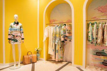 Casablanca x Selfridges Installation