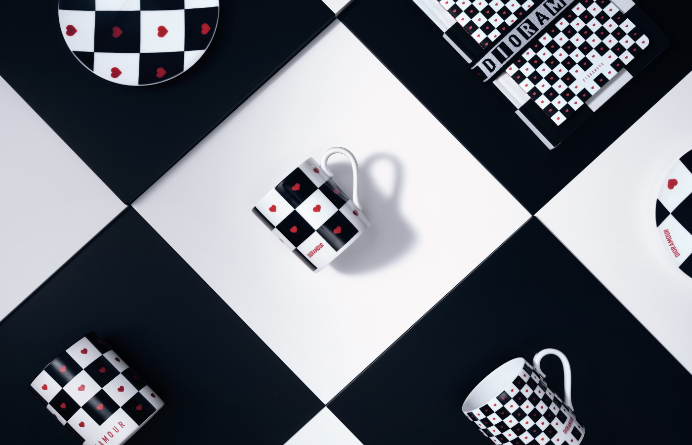 Dior Dioramour Homeware Collection