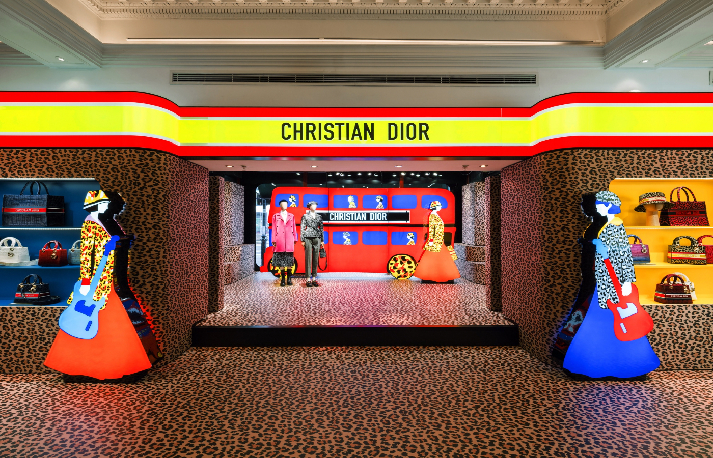 Dior Pop-up in London's Harrods