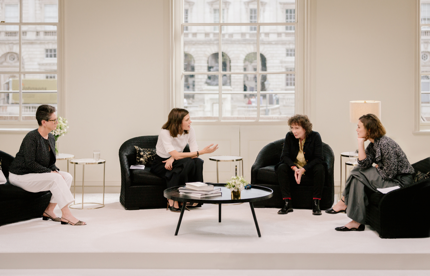 Erica Wagner, Charlotte Casiraghi, Jeanette Winterson and Keira Knightley