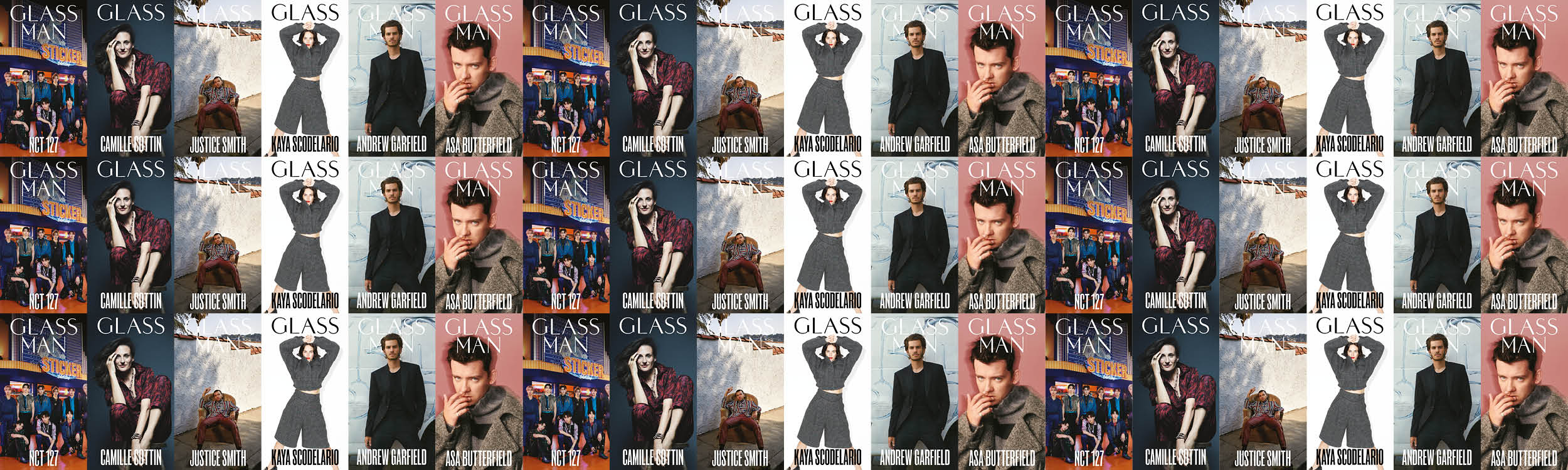 GLASS & GLASS MAN AUTUMN ISSUE OUT NOW